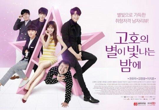 韓国ドラマ ブルーレイ「コ・ホ、星が輝く夜に」少女時代ユリ、キム・ヨングァン、イ・ジフン