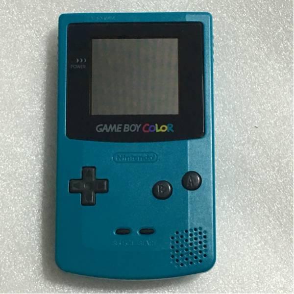ゲームボーイカラー 本体 ブルー