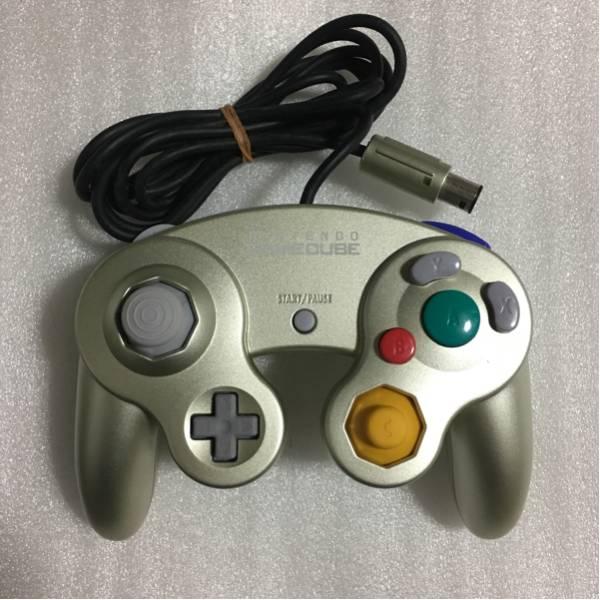 GC ゲームキューブ用コントローラ スターライトゴールド