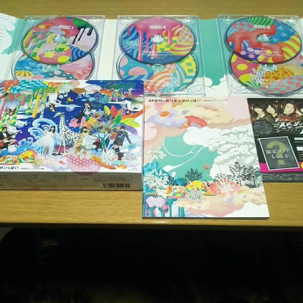 AKB48 ミリオンがいっぱい Blu-ray 6枚組☆美品☆初回限定盤 ミュージックビデオ集 全74曲 646分収録!!スペシャルフォトブック付き☆DVD ライブ・総選挙グッズの画像