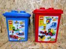 【中古】レゴ 基本セットバケツ2つ 7615 7616