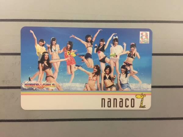 限定コラボnanacoカード SUPER☆GiRLS 第5弾「a-nation 恋☆水着(2012)」ver. ライブグッズの画像