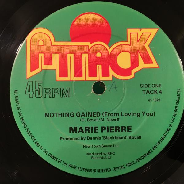 ★Marie Pierre/Nothing Gained★傑作!!DENNIS BOVELL!_画像1