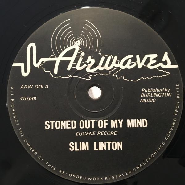 ★Slim Linton/Stoned Out Of My Mind★ソウル名曲カバーLOVERS_画像1
