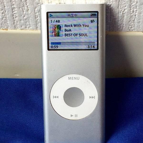 apple iPod nano 第2世代 2GB 完動品 美品