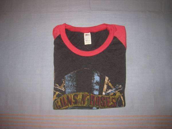 ガンズアンドローゼズ Guns N' Roses ラグラン 七分袖Tシャツ