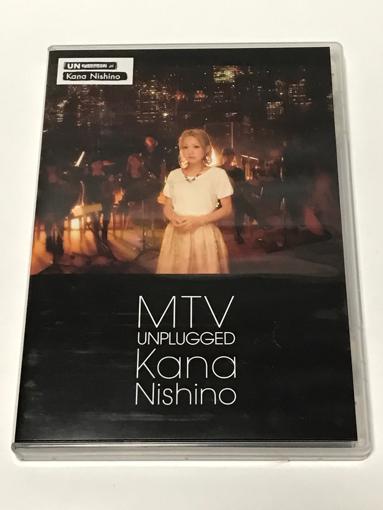 MTV UNPLUGGED 西野カナ 中古、美品 DVD ライブグッズの画像