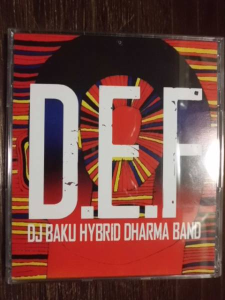 D.E.F DJ BAKU HYBRID DHARMA BAND BLACKGANION THINK TANK WRENCH GOTH-TRAD BACK DROP BOMB BOOM BOOM SATELLITES