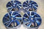 《即決品》日産 リーフ エアロスタイル 純正 6.5J +45 17in ブルー LEAF ENKEI製