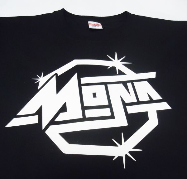MONA オリジナルロゴデザイン Tシャツ バンドTシャツ 欅坂46 けやき坂46 志田愛佳 黒 白 Strokes ■ 二人セゾン 握手会 生写真