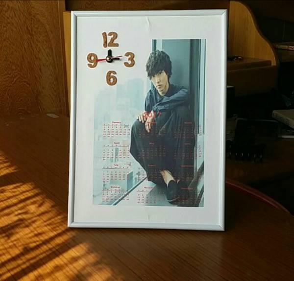 大好評* 山崎賢人  時計&カレンダー グッズの画像