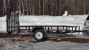 カナダ製 トレーラー 1.3トン バギー,スノーモビル,軽自