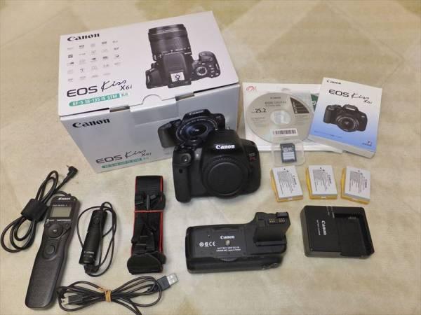 お買い得!! Canon EOS Kiss X6i 中古美品おまけ多数