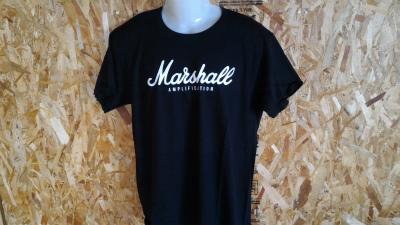 マーシャル Marshall Tシャツ M送料込 黒gibson fender