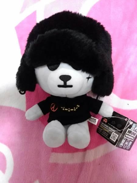 BIGBANG G-DRAGON ジヨン クランク ベア ぬいぐるみ 人形 美品