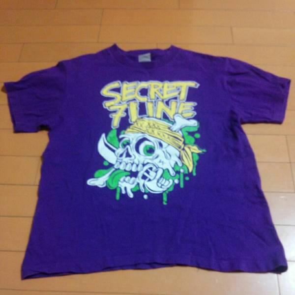 シークレットセブンライン Tシャツ SECRET7LINE インディーズ パンク Hi-STANDARD