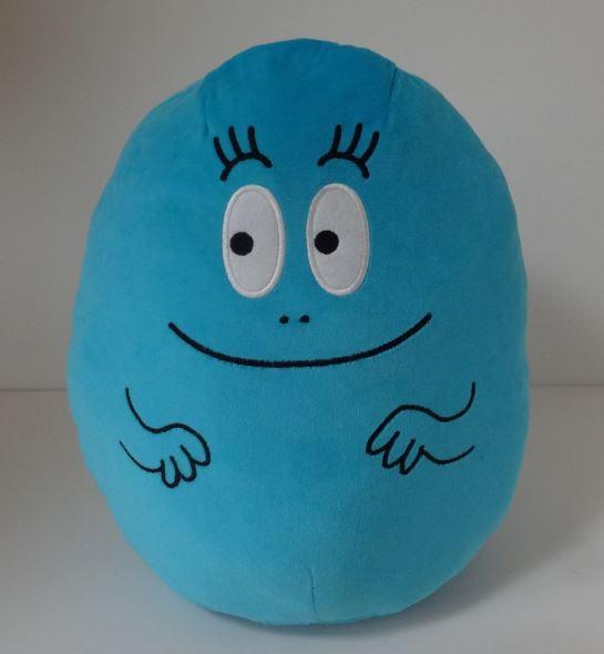 ぬいぐるみ バーバパパ 可愛い バーバピカリ 2LぽってりぬいぐるみBIG ブルー グッズの画像