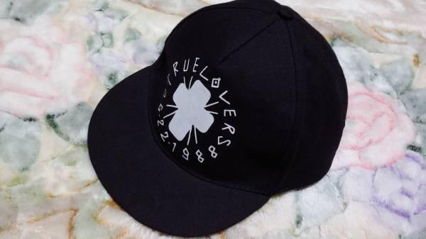 加藤ミリヤ キャップ 帽子 黒 TRUE LOVERS ライブグッズの画像