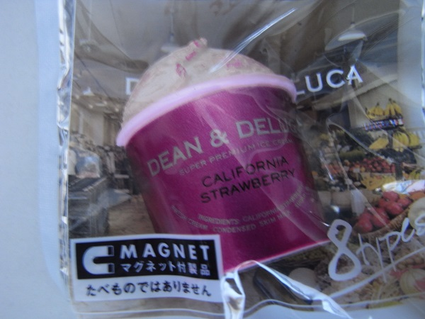 DEAN&DELUCAマグネット アイスクリーム (ペプシ景品)_画像1