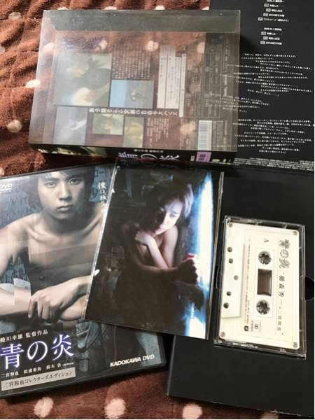 青の炎 DVD 二宮和也コレクターズエディション ポストカード カセットテープ付属 嵐 ニノ