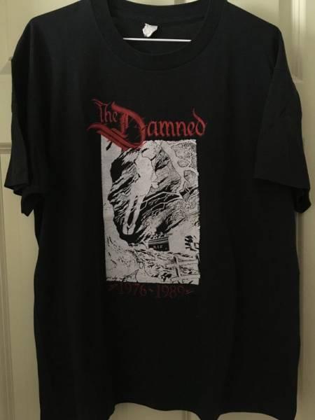 The Damned ダムド 80s ビンテージ オリジナル Tシャツ Punk パンク