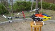 T-REX550 電動ヘリコプター (ドローン、ファントム、DJI、ヒロボー)100-スタート!!!