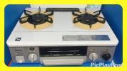 『美品です』 Paloma パロマ ガステーブル ガスコンロ IC-330SV-L グリル付き Siフラット(都市ガス)