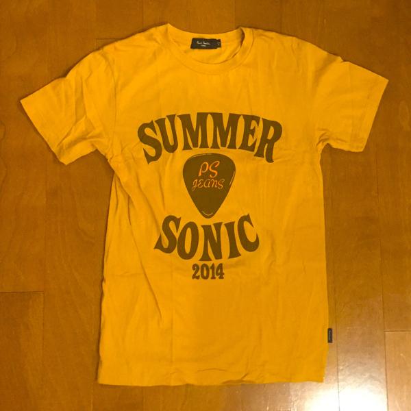 サマソニ 14 Tシャツ ポールスミス スタッフ summersonic summer sonic 2014 サマーソニック 非売品 スタッフT paul smith jeans ジーンズ