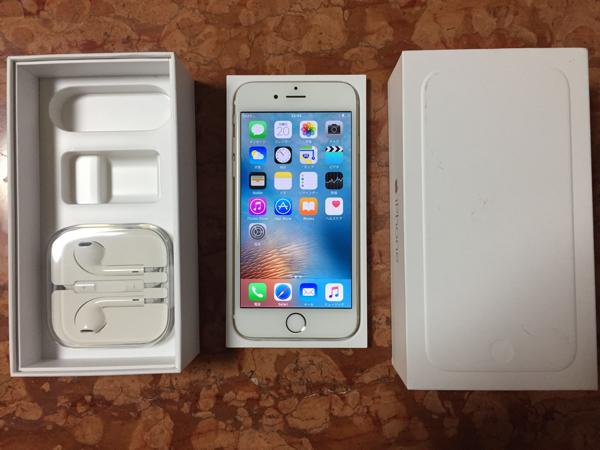 softbank iPhone 6 128GB ゴールド 初期化済み