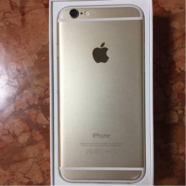 softbank iPhone 6 128GB ゴールド 初期化済み_画像3