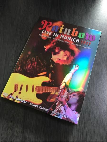 【DVD】Rainbow 『LIVE IN MUNICH 1977』2枚組 レインボー ミュンヘン リッチーブラックモア 美品 ライブグッズの画像