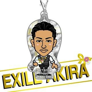 AKIRA THE SECOND EXILE ホワイトデー カプセル ガチャ