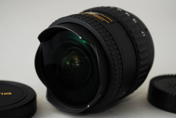 Tokina AT-X 107 DX FISH EYE 10-17mm F3.5-4.5 トキナ ニコン♯Y129