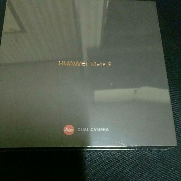 【新品未開封】Huawei Mate 9 シャンパンゴールド Simフリー 残債なし 3/8楽天モバイル一括購入 国内版 正規品_画像2
