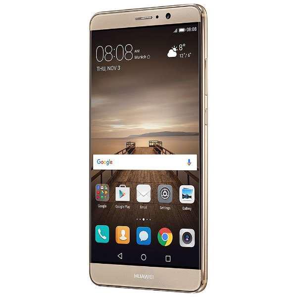 【新品未開封】Huawei Mate 9 シャンパンゴールド Simフリー 残債なし 3/8楽天モバイル一括購入 国内版 正規品