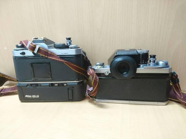 Nikon FE ニコン F カメラ2点 レンズ2点セット_画像3