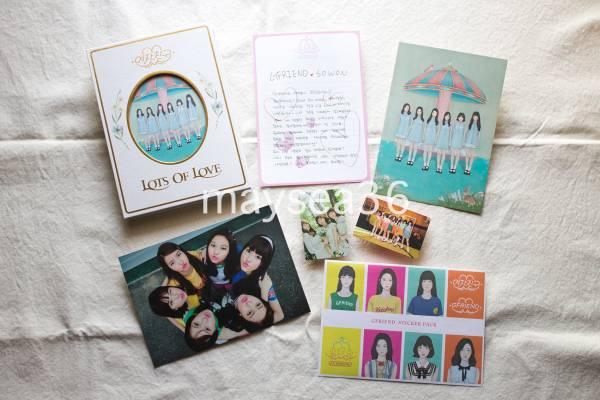 GFRIEND ヨジャチング「Lots Of Love」CD+フォトブック+レターメッセージ+ポストカード+ステッカー+トレカ