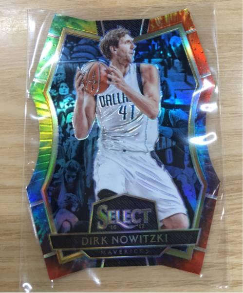 最新16-17 Select NBA Dirk Nowizki Mavericks 25枚限定 Tie-Dye グッズの画像