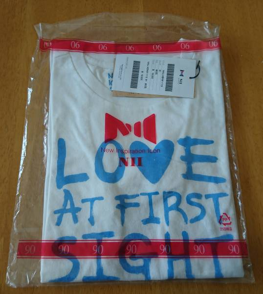 JYJ☆NIIのTシャツ(白) ライブグッズの画像