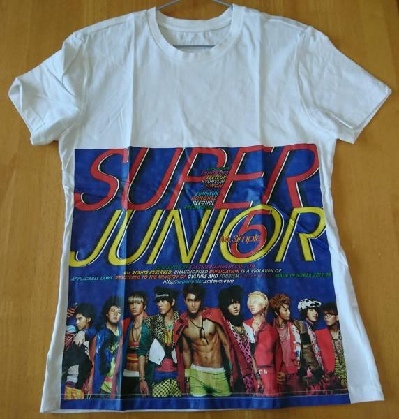 SUPERJUNIOR☆Mr.simple活動時Tシャツ ライブグッズの画像