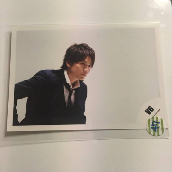 ■47■V6公式写真■長野博■2015「Timeless」■20th Century■