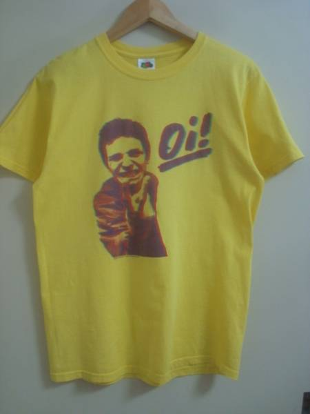 oi THE ALBUM Tシャツ/M/oi punk Cockney Rejects 4skins