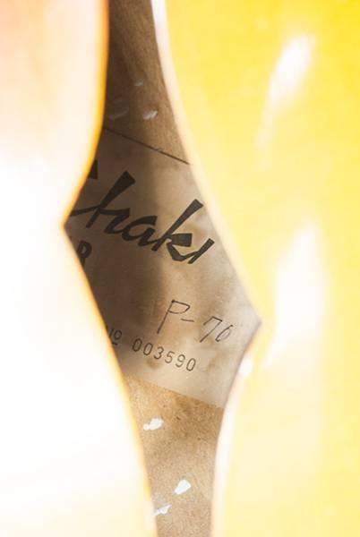 chaki P-70 アコースティックギター_画像3