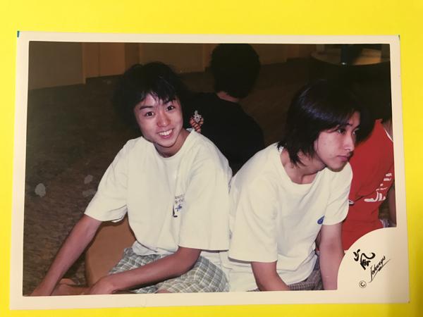 10 嵐 公式写真 デビュー当初 ハワイ 大野智 櫻井翔
