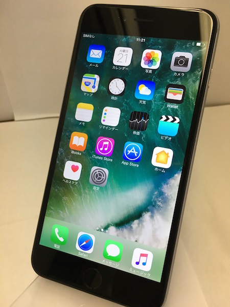 ☆ iPhone6 Plus スペースグレー 64GB au/KDDI 安心 ◯判定 初期化 動作確認済み