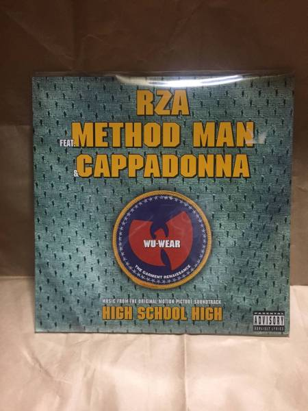 12inch RZA feat.METHODMAN,CAPPADONNA / WU-WEAR WU-TANG CLAN ウータンクラン Big Beat_画像1