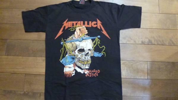 送料無料、メタリカ METALLICA、南米ツアーTシャツ(ブラジルで購入)     ライブグッズの画像