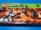 マインクラフト レゴ LEGO Minecraft 21126 並行輸入品 マインクラフトウィザー 外箱破損有り 未組立品