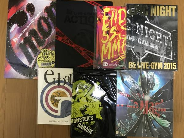 B'z パンフレット&CD