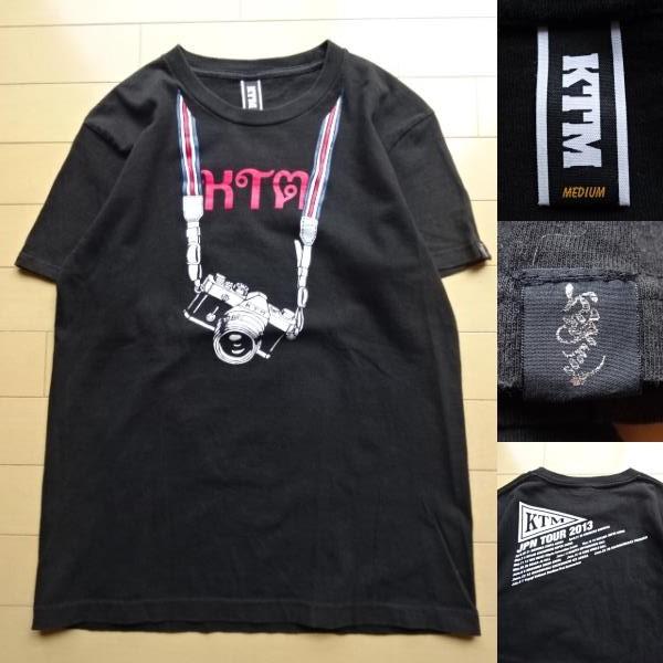 【KTM】JPN TOUR 2013 半袖 Tシャツ ブラック Mサイズ(ケツメイシ,ケツノポリス)